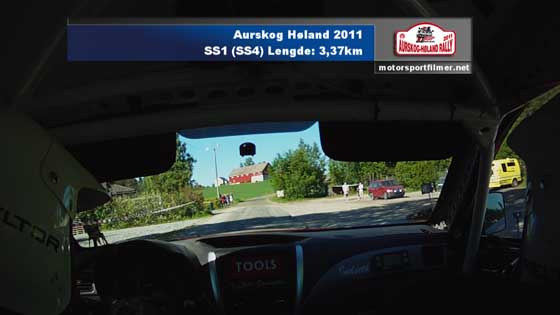 Aurskog Høland Rally SS1 (SS4)