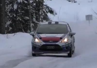 Larsen Motorsport first winter test 2012