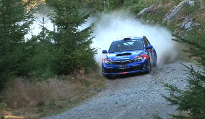 Anders Grøndal Rally Telemark Test