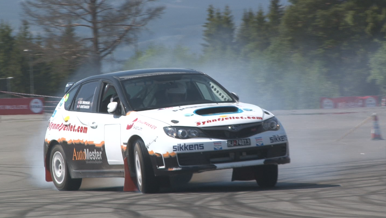 Autoslalom Lillehammer 2014