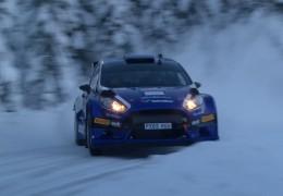 Anders Grøndal-Ford Fiesta R5 Evo Test 2016